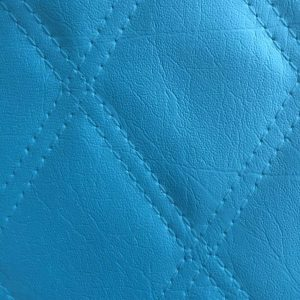 brilliant blue leather