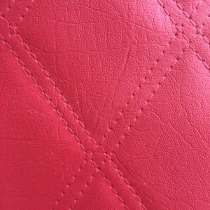 scarlet leather