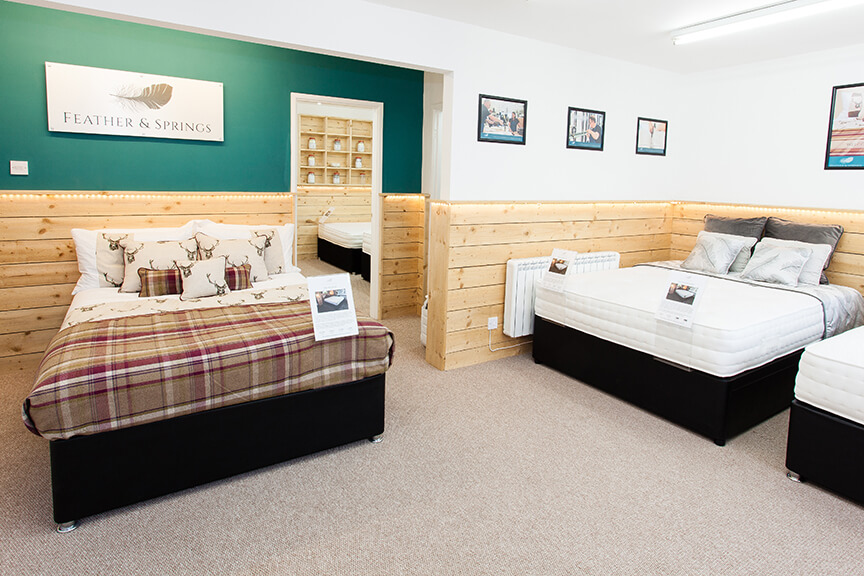 Kendal Bed & Mattress Shop - Feather & Springs
