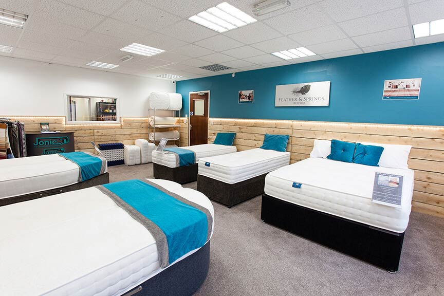 Morecambe Bed & Mattress Shop - Feather & Springs